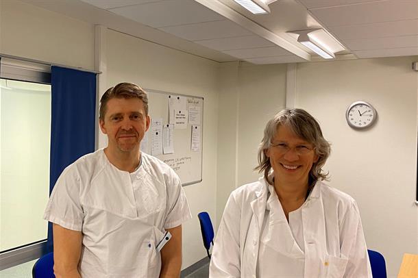 Christian Høili og Anne Julsrud Haugen