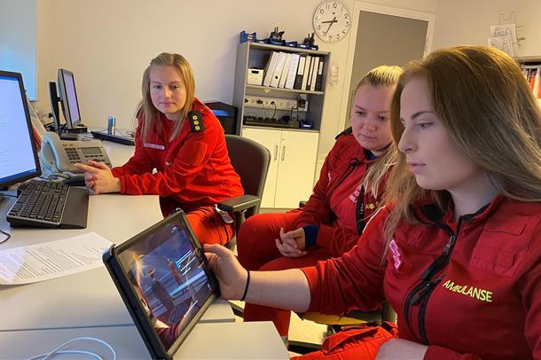 Pia Therese Repål, Maria Nilsen og Karoline Gustavsen.