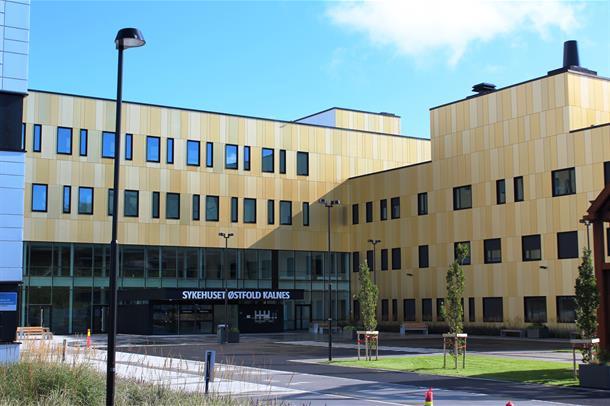 Sykehuset Østfold Kalnes.