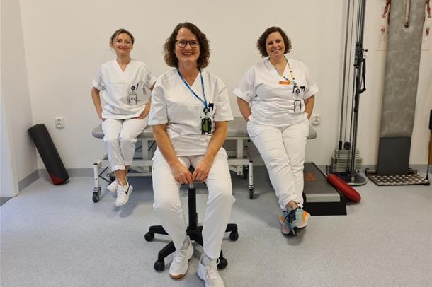 Fysioterapeuter i Sykehuset Østfold