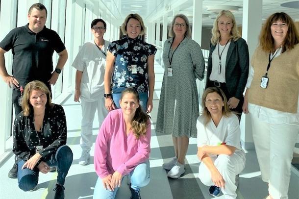 Prosjektgruppen for prosjekt heltid i Sykehuset Østfold