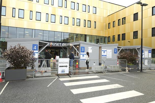Innslippskontroll Sykehuset Østfold Kalnes