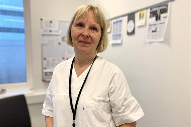 Klinikksjef Irene Dahl Andersen