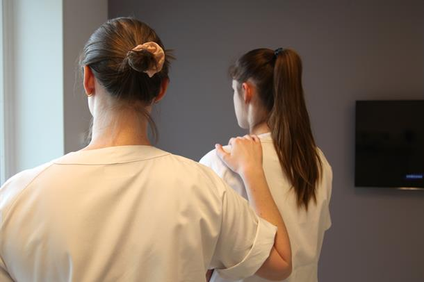 Sykepleiere på Kalnes støtter hverandre.