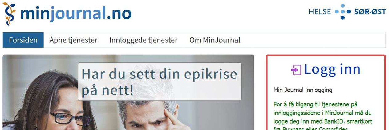 b9df7a98 På nettstedet minjournal.no kan østfoldinger nå logge inn og se mer av sin  egen journal.