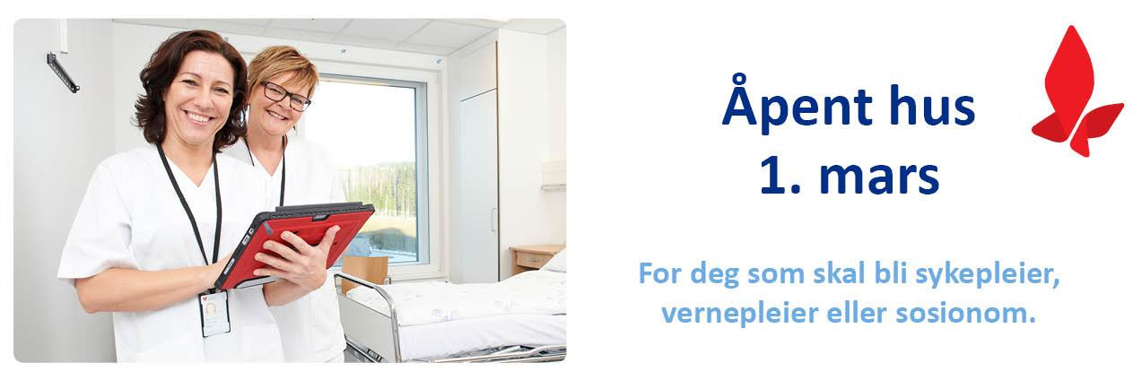 Åpent hus for studenter 1. mars
