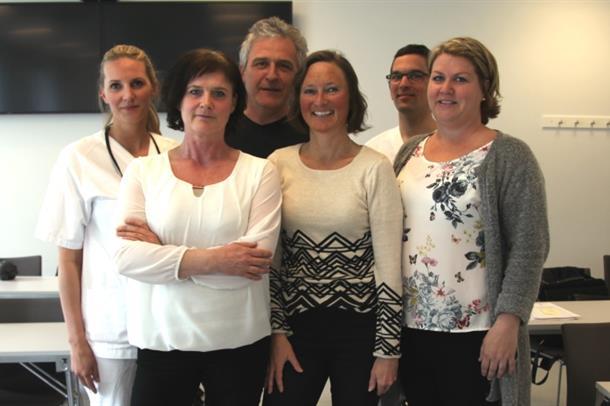 Nylig var forskningsgruppen samlet til oppstartsmøte på Kalnes.