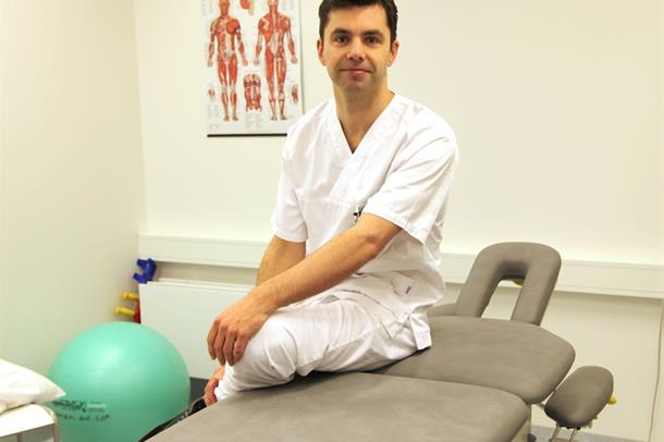 Fysioterapeut Eivind Hasvik
