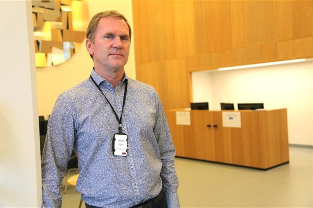 Seksjonsleder Bjørn-Arild Lundquist