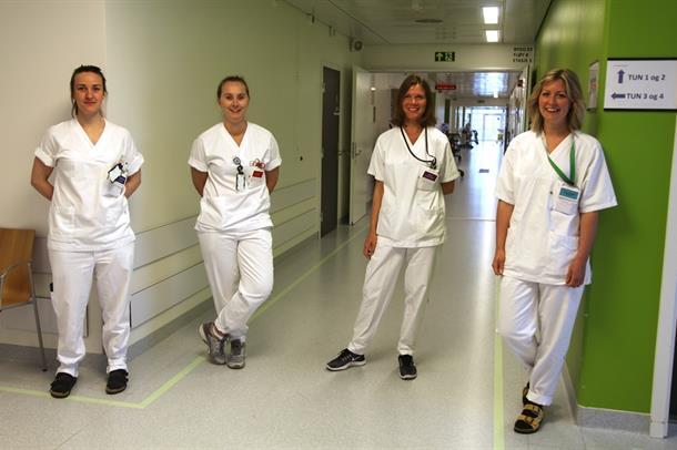 Døgnområde 6 ortopedi har fått egne sårsykepleiere